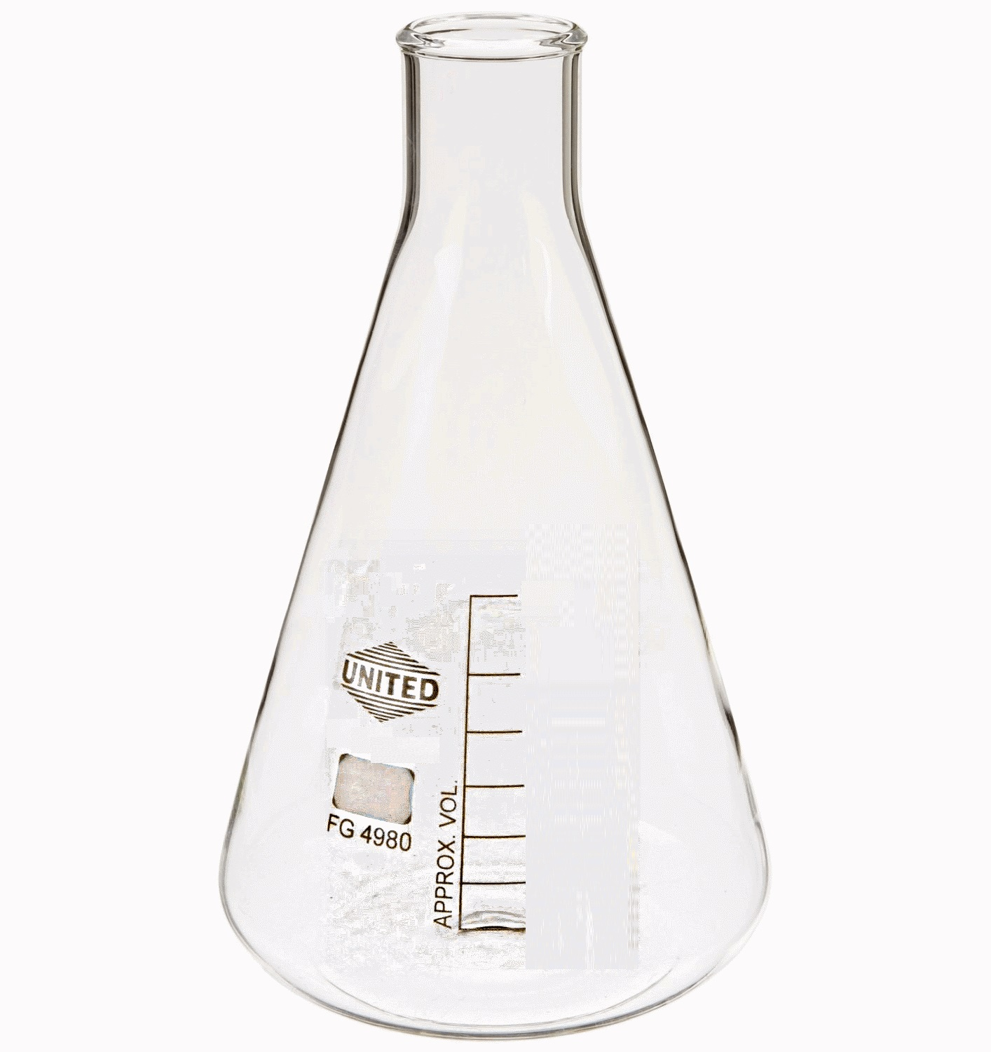Laboratory Aids, Glass Erlenmeyer Narrow and Wide Mouth